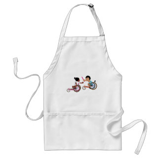 Relay Race Adult Apron