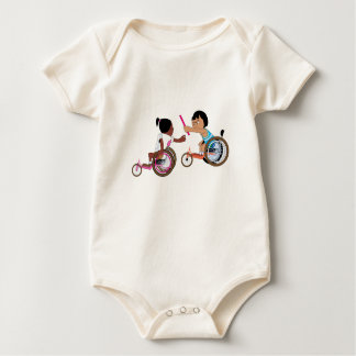 Relay Race Baby Bodysuit