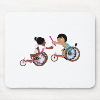 Relay Race Mouse Pad