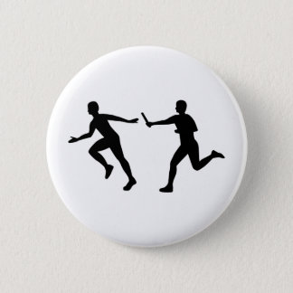 Relay race pinback button