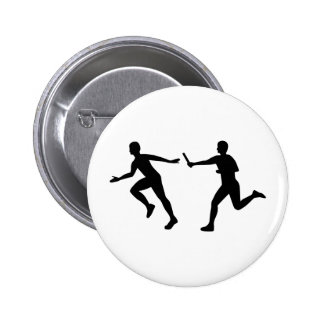 Relay race pinback button