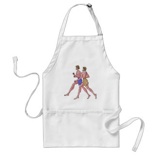 Relay Teal 396 BC Adult Apron
