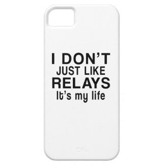 RELAYS IS MY LIFE iPhone SE/5/5s CASE