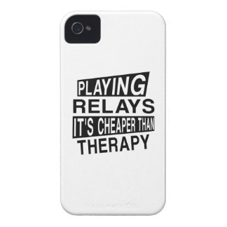 RELAYS It Is Cheaper Than Therapy iPhone 4 Cover