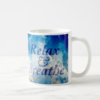 Relaz & Breathe - Inspirational Mug