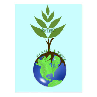 ReLeaf Plant A Tree Postcard