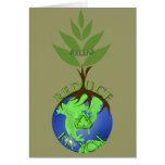 Releaf reduce recicla tarjeton