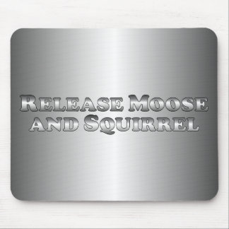 Release Moose and Squirrel - Basic Mouse Pad
