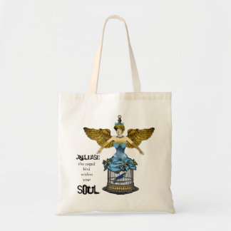 Release the Bird Caged Within Your Soul Tote