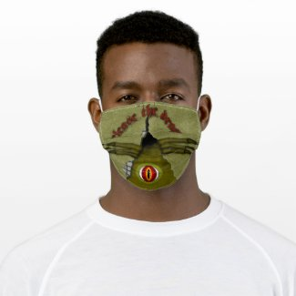 Release The Dragon! Digital Art Adult Cloth Face Mask