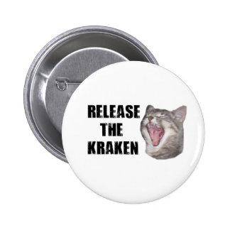 Release the Kraken! 2 Inch Round Button