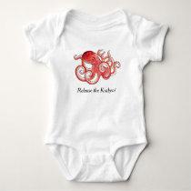 Release The Kraken Cute Little Octopus Baby Suit Baby Bodysuit