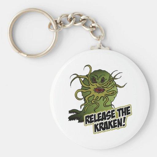release the kraken keychains