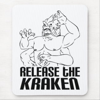 Release the Kraken Mouse Pads