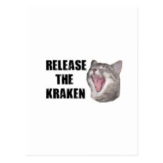 Release the Kraken! Post Cards