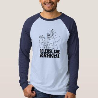 Release the Kraken T Shirts