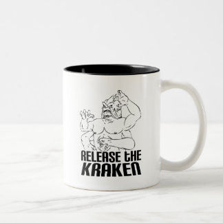 Release the Kraken Two-Tone Coffee Mug