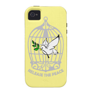 Release the Peace Dove iPhone 4 Cases
