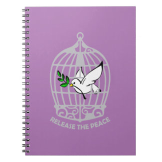 Release the Peace Dove Notebook