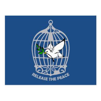 Release the Peace Dove Postcard
