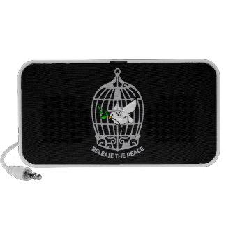 Release the Peace Dove Travel Speaker