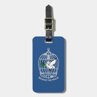 Release the Peace Dove Tags For Luggage