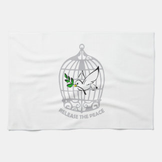 Release the Peace Dove Towels