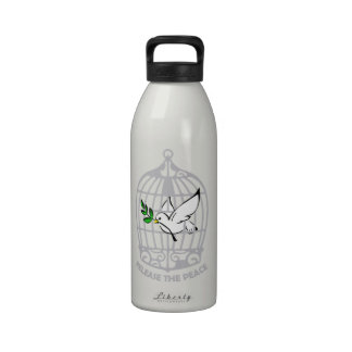 Release the Peace Dove Water Bottle