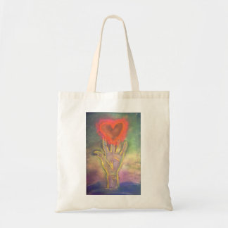 Release Your Heart tote bag