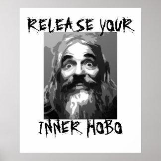 Release your Inner Hobo Poster