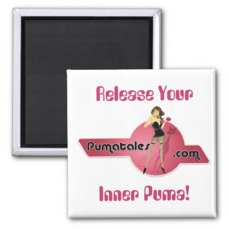 Release Your, Inner Puma! Magnet