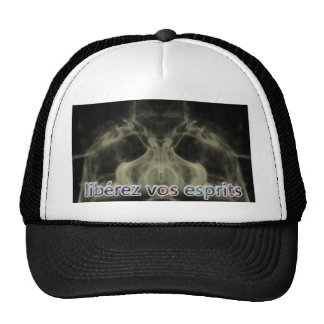 release your spirits trucker hat