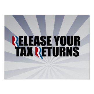 RELEASE YOUR TAX RETURNS.png Poster