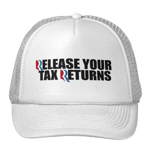 RELEASE YOUR TAX RETURNS.png Trucker Hat