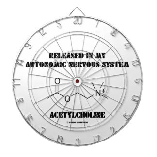 Released In Autonomic Nervous System Acetylcholine Dartboard With Darts