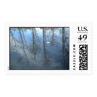 Relection of Trees Postage