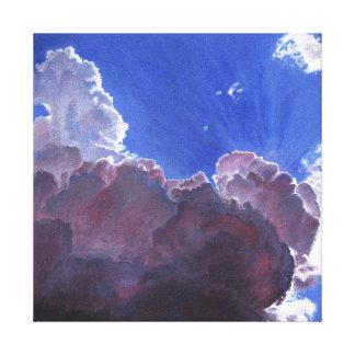 Relentless light 2012 canvas print