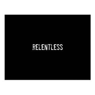 relentless postcard