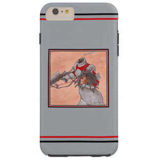 """""""Relentless Pursuit: Android 2"""" Grey Phone Case"""