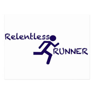 Relentless Runner Postcard