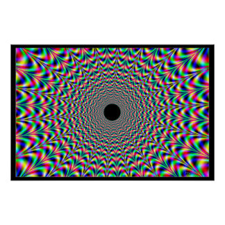 Relentless Waves of Colors Poster