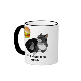 Relevant to My Interests Lolcat Mug