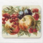 Relevo de la fruta tapete de ratón