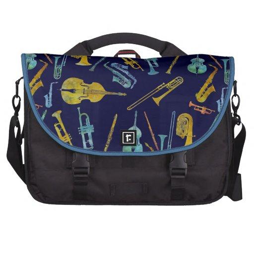 Relevo del jazz bolsas de portátil