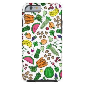 Relevo del mercado del granjero funda resistente iPhone 6
