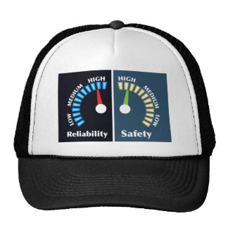 Reliability and Safety Gauges Trucker Hat