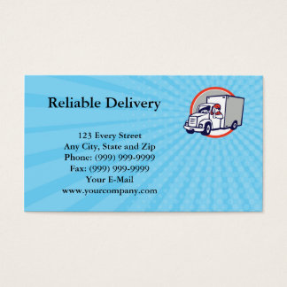 Reliable Delivery Business card