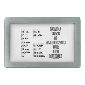 Reliable Means Of Communication Over Long Distance Rectangular Belt Buckle