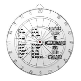 Reliable Means Of Communication Over Long Distance Dart Boards