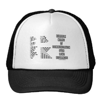 Reliable Means Of Communication Over Long Distance Mesh Hats